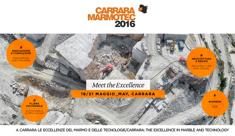 Carrara Marmotec 2016